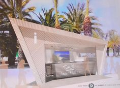 New tourist information opportunities on the bar strip by the sandy beach, the arenal. Javea's Councillor for Tourism, Antonio Miragall, revealed the design and style of name brand-new information booth That will be to the Paseo del Arenal with this in. Information Center, Tourist Information, Spain Holidays, Beach Design, Summertime, Tourism, Interior, Pretty, Outdoor Decor