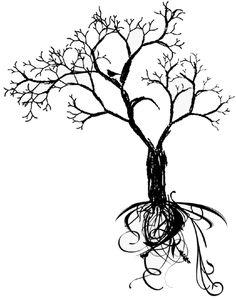 tribal+tree+tattoos | Tribal Tree Tattoo by DriyLima
