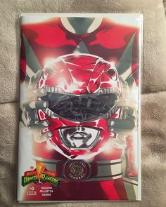 Issue #0 of the newest Mighty Morphin Power Rangers comic series by Boom Studios.