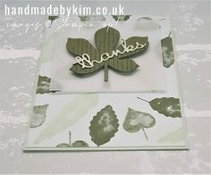Stampin' Up! Demonstrator Kim Price : International Blog Highlights November! Green Colors, Orange Color, Colours, Please Vote For Me, Different Tones, Centre Pieces, Ink Pads, My Stamp, Autumn Leaves