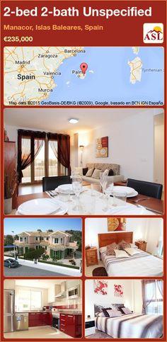 2-bed 2-bath Unspecified in Manacor, Islas Baleares, Spain ►€235,000 #PropertyForSaleInSpain