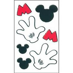 Mickey mouse hands or gloves templates disney printables mickey mouse hand template bing images pronofoot35fo Gallery
