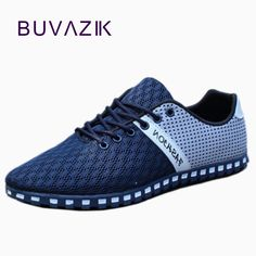 7bfb6ec0 [Visit to Buy] New Shoes Men 2017 Summer Casual Shoes casual shoes  Breathable Air