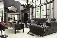 gothic living rooms - Google Search