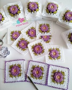 1 million+ Stunning Free Images to Use Anywhere Granny Square Crochet Pattern, Crochet Squares, Crochet Motif, Crochet Yarn, Crochet Flowers, Free Crochet, Crochet Blanket Tutorial, Crochet Square Blanket, Crochet Blanket Patterns