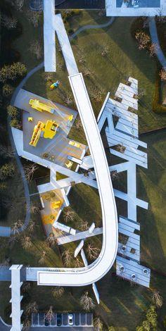 Green Architecture, Landscape Architecture, Landscape Design, Paving Design, Zhengzhou, Concept, Urban, How To Plan, Park