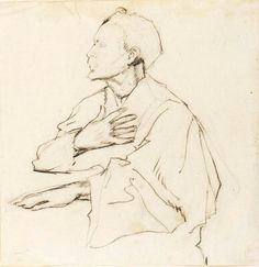 Henry Ossawa Tanner,Self Portrait, ca. 1910, pencil and conte crayon on paper  Courtesy Archives of American Art, Smithsonian Institution.