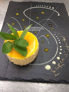 Exotic Cheese Cake :) (mango, passion fruit and coconut)