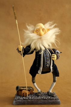 Dimoliart. The bowed legs and the wild beard just make him so special.