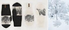 Tuva Tøv har spesialisert seg på er å lage funksjonelle produkter i tovet ull, og råstoffet er selvfølgelig norsk saueull av høy kvalitet. De lager en rekke produkter, fra gryteunderlag til tøfler, og siste produktnyhet er votter, luer og sokker. Traditional Outfits, Norway, Projects To Try, Hands, Knitting, Winter, How To Make, Design, Threading