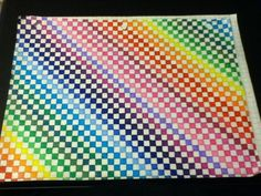 Colored Graph Paper Unfinished by AmbreLaRock on DeviantArt - Colored Graph Paper Unfinished by AmbreLaRock on deviantART - Graph Paper Art, Pattern Paper, Pattern Art, Easy Pixel Art, Graph Paper Notebook, Printable Graph Paper, Maths Paper, Doodle Art Drawing, Doodle Patterns