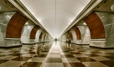 Elektrozavodskaya Электрозаводская Metro Station Moscow Russia - The 12 most beautiful metro stations in the world