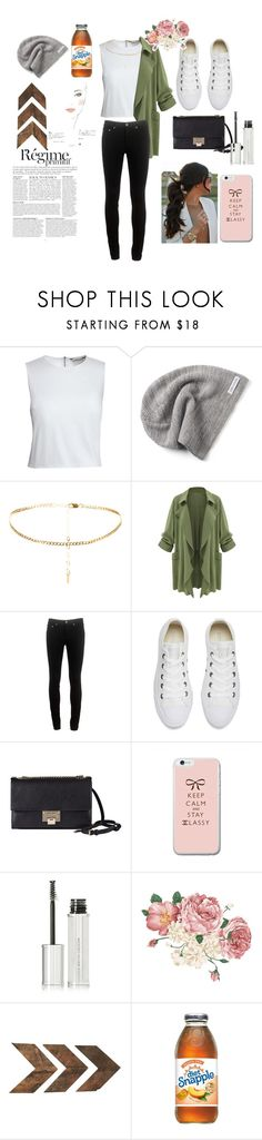 """""""keep calm"""" by stylishvicky ❤ liked on Polyvore featuring Canvas by Lands' End, Converse, rag & bone, Jimmy Choo, Givenchy, Anja, WALL and Chanel"""