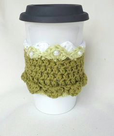 Princess Tiana inspired cup cozy by MagicalAdornments on Etsy