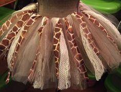 Sweet little giraffe tutu set by TheGiftyChic on Etsy