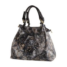 Flora Czarny cena: 513,30 PLN Deal Today, Italian Leather, Leather Shoulder Bag, Buy Now, Daily Deals, Wallets, Bags, Stuff To Buy, Style