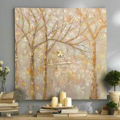 Glitter Art, Gold Work, Fall Pictures, Gold Paint, Acrylic Art, Tree Art, Clay Art, Picture Wall, Modern Art
