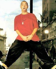 Eminem looking too cool