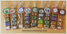 It's Written on the Wall: (Freebie) Halloween Hershey Nugget Treats-Yummy & Cute! diy