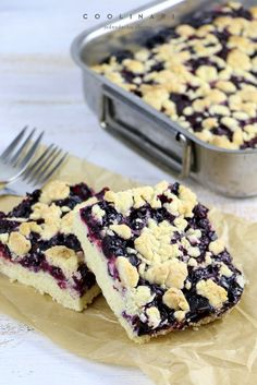Čučoriedkový koláč s posýpkou - Coolinári Healthy Cookies, Dessert Recipes, Desserts, Cereal, Muffin, Sweets, Cooking, Breakfast, Blog