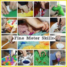 Fine Motor Skills Resource Page