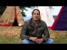 Micheal Spears telling story about the tipi. - YouTube