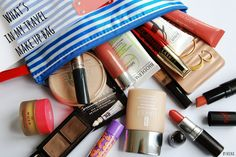 Nicka The Beauty Hunter: What´s in my travel make up bag Beauty Review, Sunglasses Case, Make Up, Cosmetics, Bags, Travel, Makeup, Handbags, Voyage