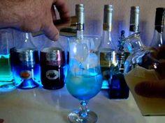 Dragon Blue Cocktail