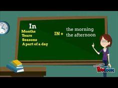 Prepositions of time y clases de ingles online y a domicilio en www.wowingles.com.co