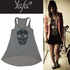 Camiseta Caveira www.yafa.com.br