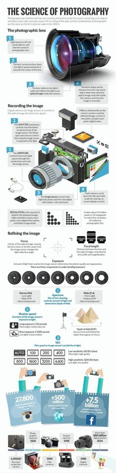Infographic about The Science of Photography | Witsel Carry | LinkedIn