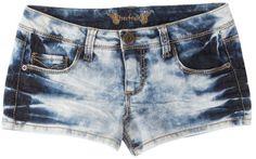 Freestyle Mixed Washed Denim Shorts DENIM WASH BLUE 3 $14.99