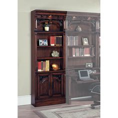 Have to have it. Parker House Barcelona 32-Inch Open Top Bookcase - $1030.05 @hayneedle