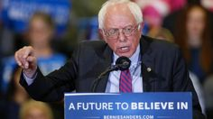 """Sen. Bernie Sanders called the Republican Party """"a joke"""" during an interview Wednesday evening and he didn't stop there. Sanders said the GOP race is a """"national disgrace"""" and an """"international embarrassment."""""""