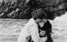 "Elizabeth Taylor & Richard Burton in ""The Sandpiper"" (1965)"