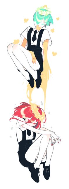 Phos and Cinnabar Matou, Anime Artwork, Angst, Cute Art, Art Inspo, Art Reference, Anime Characters, Character Design, Sketches
