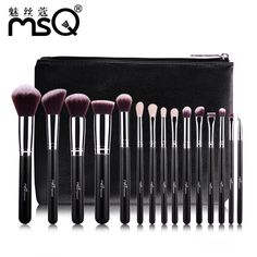 Luxury package 15PCS Make-up Brushes Set Of Professional Make-Up Brushes To High-Quality Beauty Portable Outside #Affiliate