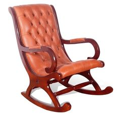 Chesterfield York Rocking Chair, Leather Sofas, Traditional Sofas