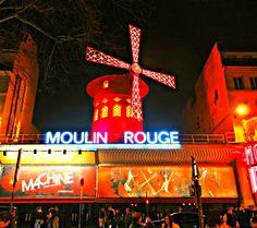 Párizsi séták: A Moulin Rouge