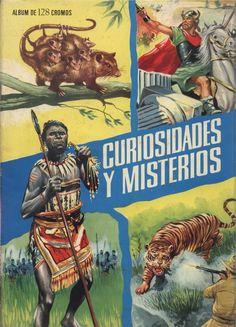 Curiosidades y Misterios- Álbum de cromos publicado en 1965 por Editorial Ferma