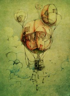 Image result for hot air balloon carrying a whale