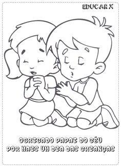 educar x atividades para colorir dia das crianas