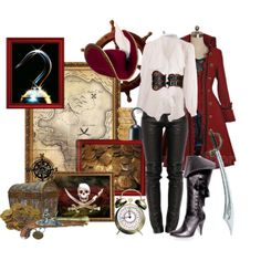 """Captain Hook"" by asktheravens on Polyvore"