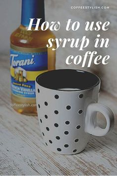 You really don't need a lot of ingredients to turn regular coffee into your favorite Starbucks drink. Here's how to use coffee syrup. Ninja Coffee Bar Recipes, Ninja Coffee Maker, Coffee Drink Recipes, Keurig Recipes, Nespresso Recipes, Jamba Juice, Coffee Tasting, Coffee Drinkers, Coffee Syrups