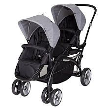 Baby Trend Sit N Stand Snap Fit Double Stroller Morning Mist