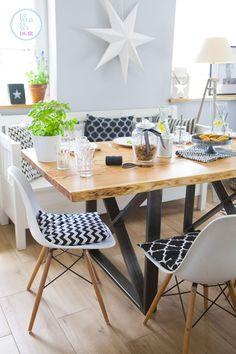 Stół w stylu industrialnym. Olejowanie drewna – jak to zrobić? - Lawendowy DomLawendowy Dom