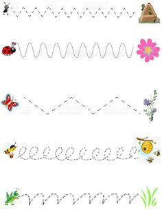 Worksheets for kids,tracing,learning activity by Majasonlinedaycare on Etsy