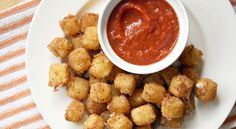 Fried Mozzarella Cheese Balls