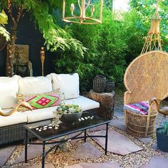 This Space is very similar to one of my Outdoor Spaces, the Area around my Hot Tub/Deck, which features French Doors opening into both my Master and my Bathroom...