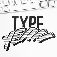 It's my favourite day of the week! @fiona_pouet has done an amazing job on this weeks #typeyeahtuesdays entry with her version of the #typeyeahlogo. ❤️it!! Join the Typeyeah Instagram Challenge by designing your best version of the 'Typeyeah' logo and post it to Instagram with the hashtag #typeyeahlogo. Each Tuesday a favourite will be selected and featured on the Typyeah Instagram page.